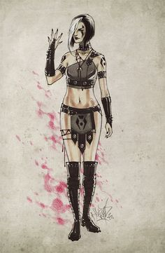 Mortal Kombat - Sareena by ~Fezat1 on deviantART