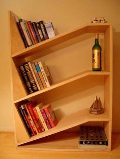 Gravity bookshelf