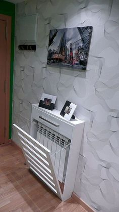 Normous Give Your Dwelling A Fashionable Make Over On A Price range With A Designer Radiator - Consoletableideas Design Entrée, House Design, Design Ideas, Wall Heater Cover, Modern Radiator Cover, Home Radiators, Designer Radiator, Interior Design Living Room, Bedroom Decor