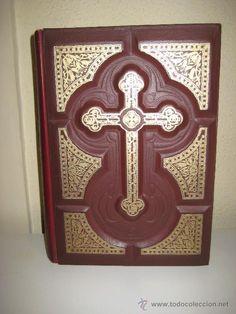 ANTIGUA SAGRADA BIBLIA AÑO 1953 ILUSTRACIONES DE GUSTAVO DORE.