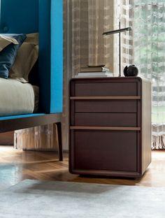Aura Nightstand, Transitional Bedroom Design at Cassoni.com