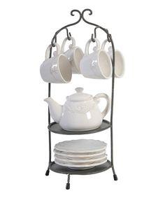 Look what I found on #zulily! Tea Stand Set #zulilyfinds