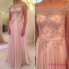 Pink Prom Dresses,Beaded Prom Dress,A Line Prom Gown,Off The Shoulder Prom Gowns,Elegant Evening Dress,Lace Evening Gowns,Modest Evening Gowns,Sexy Prom Dress PD20184730