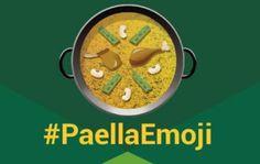 Etiqueta #EmojiPaella en Twitter
