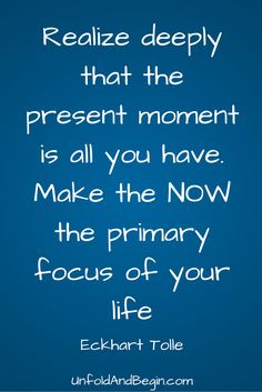 Learn a breathing exercise on UnfoldAndBegin.com that will help you realize this Eckhardt Tolle quote