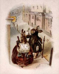 Beatrix Potter...Her books were some of my favorite growing up