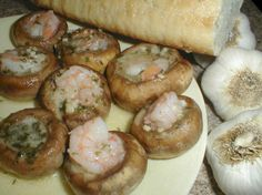 Shrimp Scampi Stuffed Mushroom Caps Recipe - Food.com