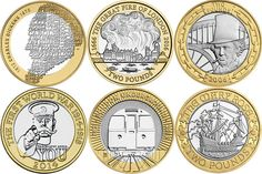 The 37 most valuable coins in circulation - have you got any in your pocket? Rare Coins Worth Money, Valuable Coins, Antique Coins, Old Coins, Rare 50p Coins Value, Rare British Coins, Good News, Canadian Coins, Euro Coins