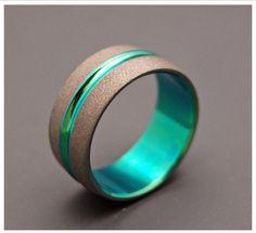 Tungsten wedding mens band Ring