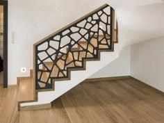 Balustrada laserowa 001 Contemporary Interior Design, Home Interior Design, Interior And Exterior, Interior Decorating, Home Stairs Design, Railing Design, House Design, Modern Staircase Railing, Modern Stairs
