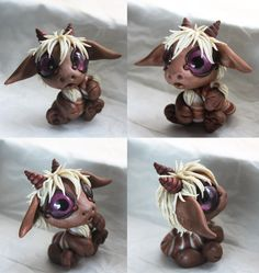 Silly Maned Bitty Baby Dragon by BittyBiteyOnes on deviantART