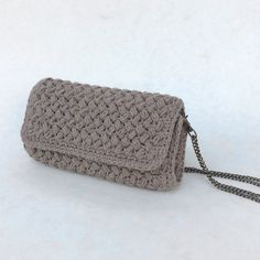 Crochet Purse with chain