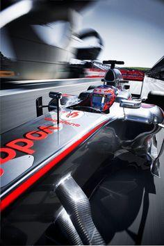 Amazing Photography, terrible season!! Vodafone McLaren Mercedes Pre-Season Collateral shoot 3 by Patrick Gosling, via Behance