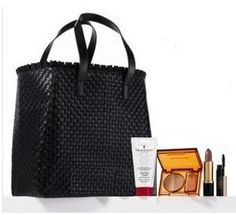 """NEW! Elizabeth Arden 2012 5-piece Beauty Skin Care Gift Set: Bronzing Powder Duo in Bronze Beauty + Ceramide Ultra Lipstick in Pink Bloom + Eight 8 Hour Cream Skin Protectant + Ceramide Lash Extending Treatment Mascara in black + Black Luxury tote Bag by Elizabeth Arden. $25.99. NEW! Elizabeth Arden 2012 5-piece Beauty Skin Care Gift Set. Each product maybe marked as """"Not For Individual Sale"""" as it was part of a set!. 3. Eight 8 Hour Cream Skin Protectant (Fragrance FR..."""