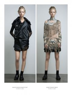 Anne Sofie Madsen - this young Danish designer, is known for her couture-level attention to detail. Beautiful.