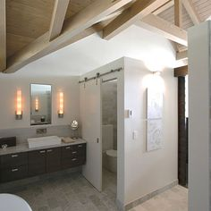 Bathroom vaulted master bathroom toilet room Design Ideas, Pictures, Remodel and Decor