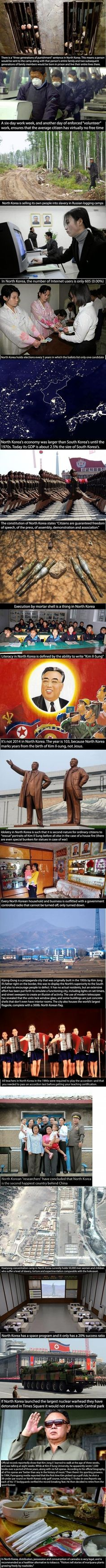 Welcome to North Korea.. Dear god thats scary...