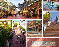 THE best outdoor mall is Paseo Nuevo, Santa Barbara#SantaBarbaraHoliday
