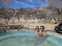 Chinati Hot Springs - Pancakes and Beet Juice: Texas Travels: A Weekend in Marfa, Texas from Dallas