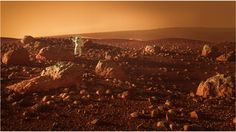 A Mars landscape following a tutorial from Blender Guru. The post production has been done by Imaginary Photography
