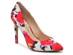 Jessica Simpson Veronica Watercolor Pump - $60 at DSW - absolutely totally love this shoe and two friends have bought it so far.  But do I really need more pumps???