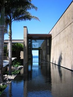 Olson Kundig Architects - Projects - Ocean House  A river of hardened lava runs through the site and symbolically connects the house to important Pacific culture sources of energy; the mountains and the sea.