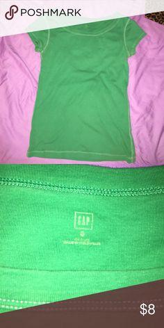 Gap tee Green size small GAP tee. Very comfy ! Gap Tops Tees - Short Sleeve