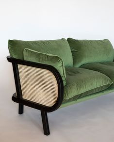 BuzziCane: Modern Seating with Traditional Woven Cane Backs - Design Milk - Trend Industrial Furniture 2019 Inexpensive Furniture, Unique Furniture, Cheap Furniture, Classic Furniture, Industrial Furniture, Furniture Online, Furniture Outlet, Cane Furniture, Furniture Decor