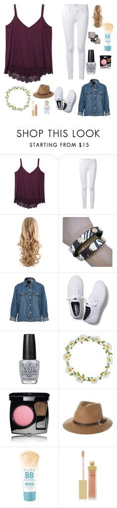 """Let's go to the zoo"" by kyra-rose-freeman ❤ liked on Polyvore featuring Wet Seal, Frame, Tory Burch, Keds, OPI, Carole, Chanel, Rusty, Maybelline and AERIN"