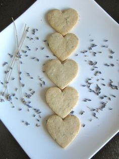 Not exactly a French recipe... but honey lavender shortbread! Who can resist?