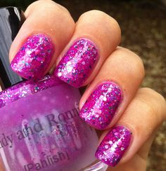 Glam Polish: Pahlish - Candy and Ronnie