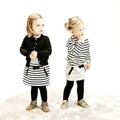 Great shot! Thanx for sharing @het_land_van_ooit  #kids #fashion #stripes #black #skirt #