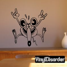 Mouse Wall Decal - Vinyl Decal - Car Decal - DC006