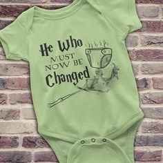 Funny Harry Potter Onesie Harry Potter Baby by KennieBlossoms #babyclothesfunny