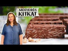 Mogyorós KitKat szelet 🥜 sütés nélküli sütik 🍫 - YouTube Youtube, Youtubers, Youtube Movies