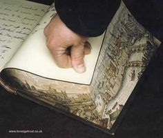 Martin Frosts Fore-edge Painting