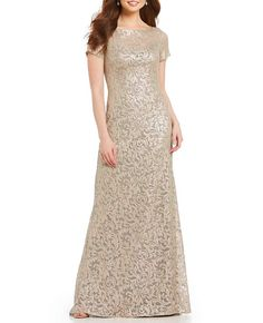 c7d5603d38d Find the perfect Gold women s formal dress or evening gown at Dillard s