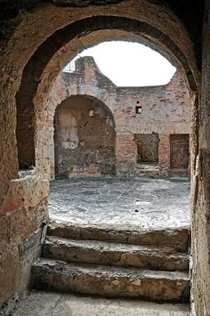 Rome, Italy - The Forum - Baths of the seven sages