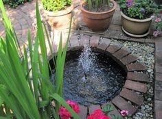 Diy Garden Water Features Design Ideas 21