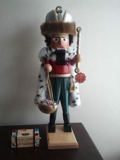 "Steinbach ""H M Czar of Russia Nutcracker"" Hand Signed and RARE to Find 