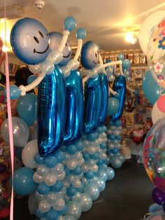 Fabulous and fun Age 1 balloons by missymooballoons.co.uk