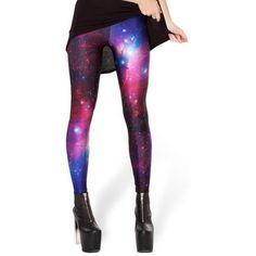 New Design Cosmic Space Printed Leggings Sexy Fitness Women Fashion Gothic Creative Shape Slim Popular Pants Space Leggings, Galaxy Leggings, Purple Leggings, Purple Pants, White Leggings, Best Leggings, Tight Leggings, Leggings Are Not Pants, Awesome Leggings