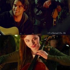 Mia and Adam. This song! If I Stay Movie, The 5th Wave, Out Of Body, Movie Couples, Chloe Grace Moretz, The Fault In Our Stars, About Time Movie, Beautiful Stories, Swagg