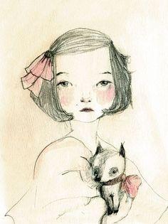 LOVE DeWanda watercolors