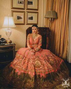 Looking for Bridal Lehenga for your wedding ? Dulhaniyaa curated the list of Best Bridal Wear Store with variety of Bridal Lehenga with their prices Wedding Lehnga, Indian Bridal Lehenga, Red Lehenga, Indian Bridal Outfits, Indian Bridal Fashion, Indian Bridal Wear, Indian Dresses, Bridal Dresses, Wedding Dress