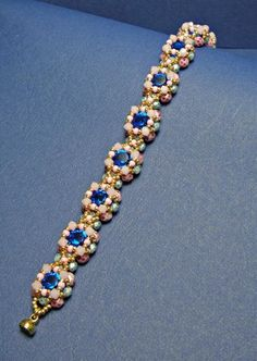 Name: 'Jewelry : Tutorial Candy Bracelet patterns Tutorial Candy Bracelet Beaded Bracelet Patterns, Beaded Necklace, Beaded Bracelets, Embroidery Bracelets, Bracelet Designs, Jewelry Necklaces, Beaded Bead, Swarovski Bracelet, Beaded Jewelry