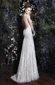 Galia Lahav Lace Wedding dress, The Lourdes collection 2013, model Madonna