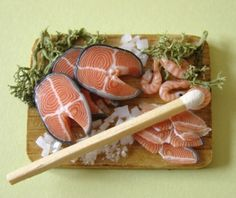 Various Food Miniatures by PetitPlat