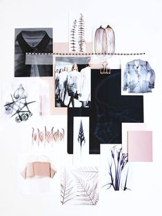 Scanned Moodboard for SisterMag-Eclectic Trends