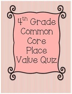 1000 images about math place value rounding on pinterest place values rounding and place. Black Bedroom Furniture Sets. Home Design Ideas